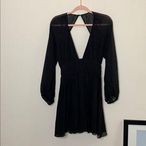 NWT Mara Hoffman Black Dress XS